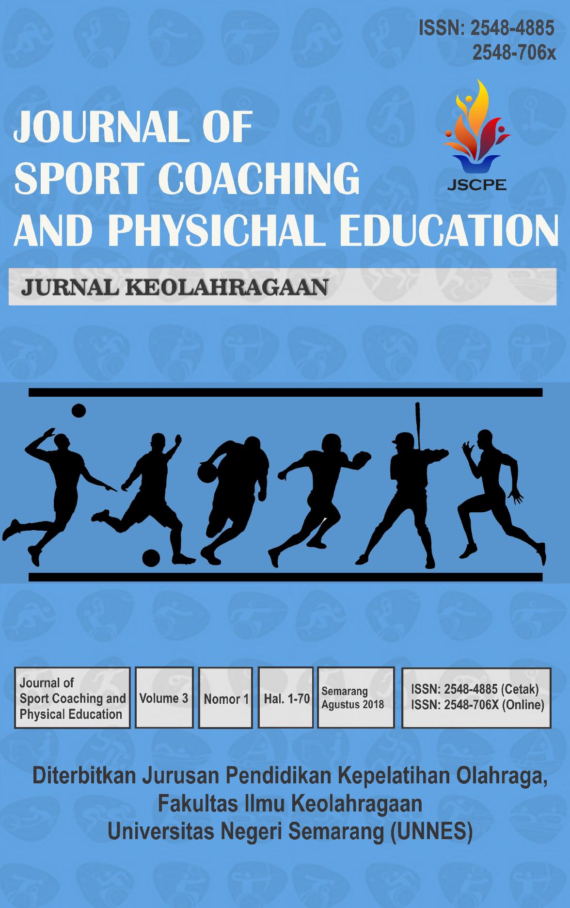 Analisis Gerak Teknis Service Atas Bola Voli Di Pbv Bina Taruna Semarang Usia 12 Tahun Journal Of Sport Coaching And Physical Education